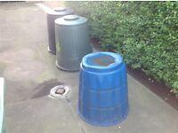 3 composting bins