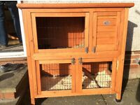 rabbit, guinea pig hutch