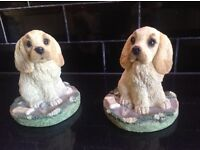 Puppy / dog Book Ends/ Supports for nursery/ children's room