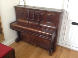 Chappell & Co. Ltd. Upright Piano, Overstrung & Underdamped