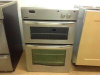 Newworld double oven gas 87cm