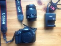 Canon Eos 1200D, DSLR. Lens canon 18-55mm (brand new-like)