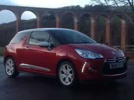 Citroen DS3 Dsign 1.2 25,000 MLS New Mot £20 road tax Immaculate