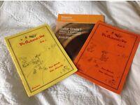 Guitar grade one books x 3