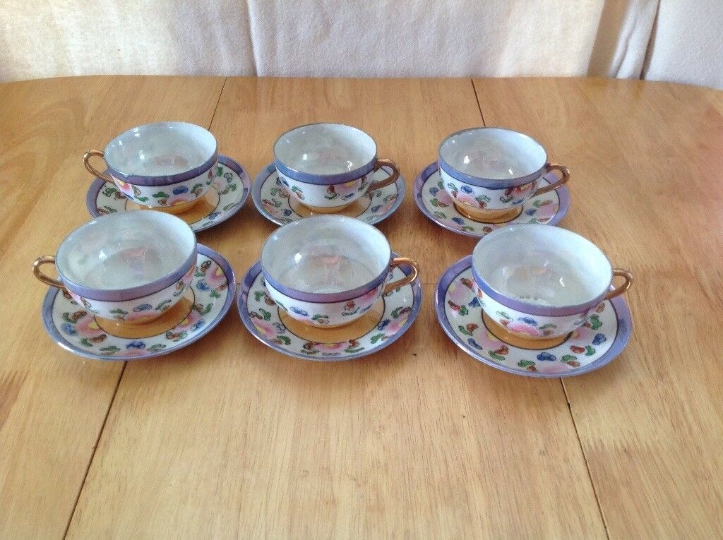 Japanese Cups & Saucers