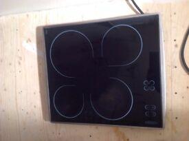 Hotpoint E6004 Stainless Steel Built In Hob