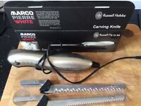 Electric carving knife - Russell Hobbs Marco Pierre White