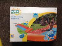 Brand new kids water slide