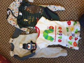 Baby boy clothing bundle 0-3mths #5