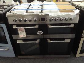 Leisure cuisinemaster 100cm range. RRP £1035. New/graded 12 month Gtee