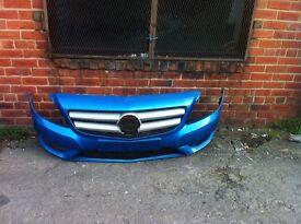 Mercedes w246 A246 front bumper 2012-2014