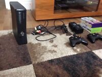 Xbox 360 Kinect+7 Games Great Condition