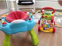 Baby walker and activity station £20 FOR BOTH