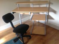 Computer Desk & Chair - Free - Collection Only