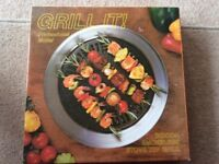 """GRILL IT"" indoor smokeless stove top grill."