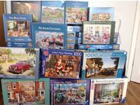 For sale JIGSAW puzzles