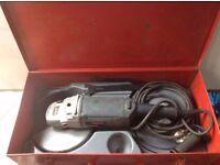 Bosch GWS 18-230 Grinder 9 inch 230mm 110v (with Original Metal Case)
