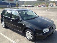 2002 VW Golf SE 5 door hatchback, 1568CC, 87500 miles.