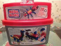 Mega Bloks Tub Of Various Building Blocks