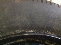 Spare wheel 185/55 R15