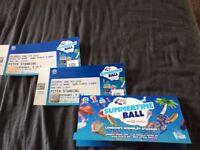 2 x Capital Summertime Ball Tickets, pitch standing
