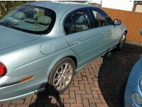 Jaguar S Type 3ltr auto - X Reg (2000) For repair or parts