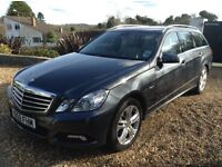 Mercedes Benz E220 Avantgarde Estate Jan 2010, Immaculate, FSH