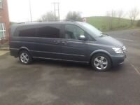 For sale Mercedies Viona 6 seater recling cream leather seats