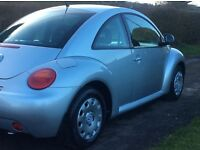 2001 Volkswagen Beetle *** ONE LADY OWNER *** FULL SERVICE HISTORY ***