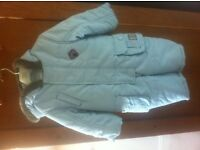 Beautiful designer snowsuit and jacket 9-12 months