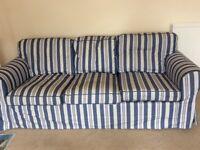 Lovely nearly new three seater sofa