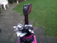 Ladies Golf Clubs with Ping Bag