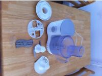Kenwood food processor and attachments