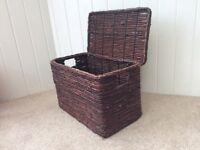 Storage Basket. Brown. Good condition