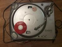 Ion ittusb record deck