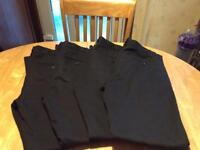 Black School Trousers 'NEXT' Age 14 years