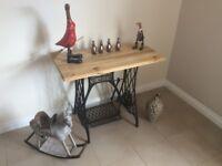 Singer Sewing machine vintage table or desk