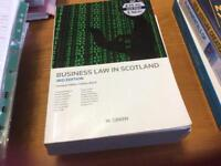 Business law in Scotland 3rd edition