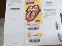 2 Rolling Stones Tickets for Friday 25th May,under face value, £170.00 ono.