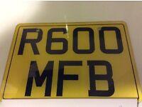 R600 MFB Cherished Registration for sale