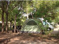 VANGO ICARUS HUB Herbal. Large utility tent/ shelter. Seat 8+