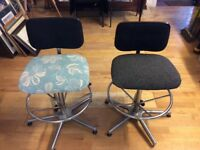 Almost Vintage Office Swivel Chairs