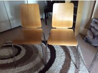 Four kitchen chairs
