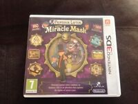 3DS game Professor Layton and the Miracle Mask complete with case very good game .Only £10