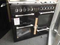 Leisure cooker master 100cm duel fuel range. £750 new/graded 12 month Gtee