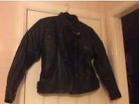 Ladies Skintan Leather Motorbike Jacket, Trousers and Boots