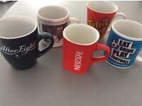 Tea/Coffee Mugs x7