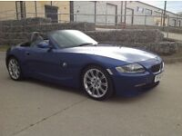 BMW Z4 2.0 Sport Estoril Blue 2007 FSH 56k