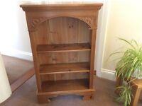 Small pine bookcase. From Victoriana.