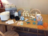 Highchair and Closer to Nature Starter Kit